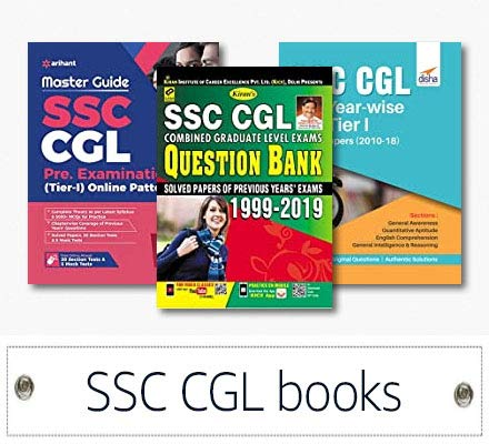 Up to 35% OFF SSC CGL books