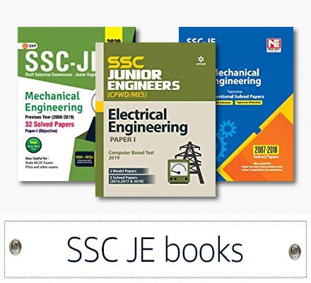 Up to 35% OFF SSC JE books