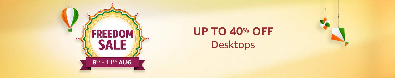 Desktop header