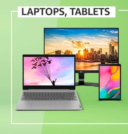 Laptops, tablets, moniters