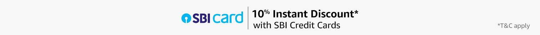 10% instant discount*