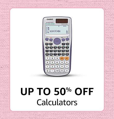 Calculators - Upto 50% Off
