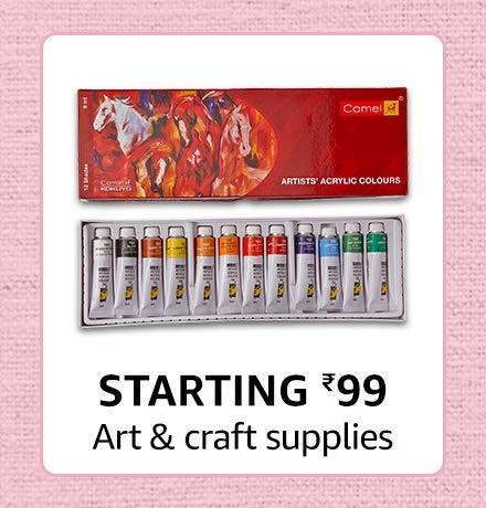 Art supplies starting 99