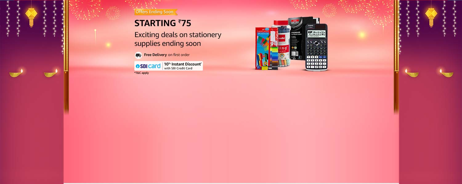 amazon.in - Stationer Supplies starting at just ₹75