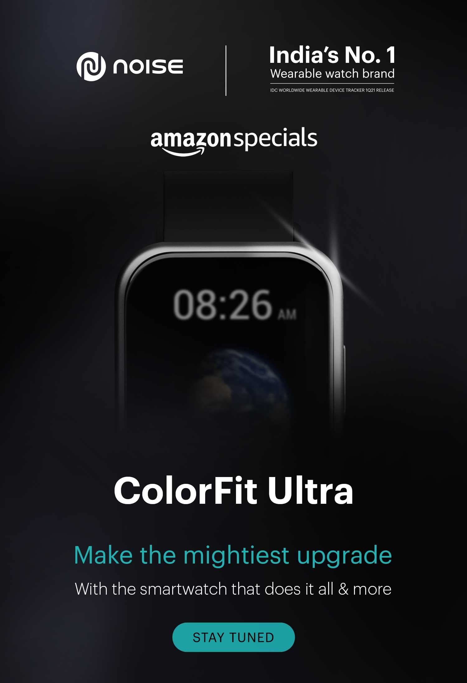 Noise Colorfit Ultra Smartwatch with TruView Display Launching Soon