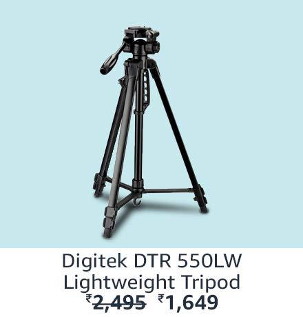 Digitek DTR 550LW Lightweight Tripod
