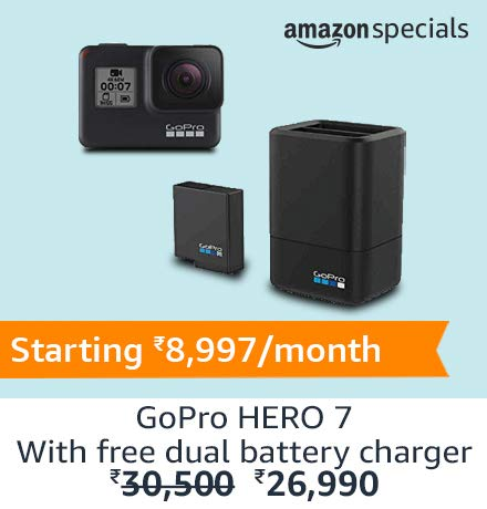 GoPro HERO7 Black | Amazon Specials (Top right)