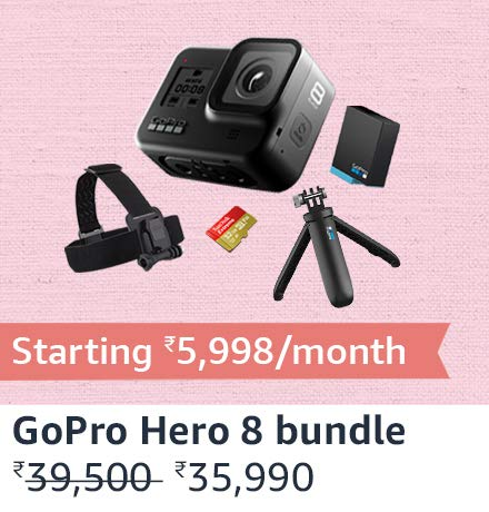 GoPro Hero8 Holiday bundle black