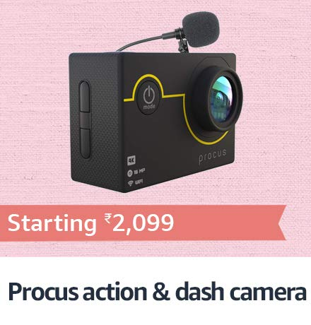 Procus Action Camera & dash camera
