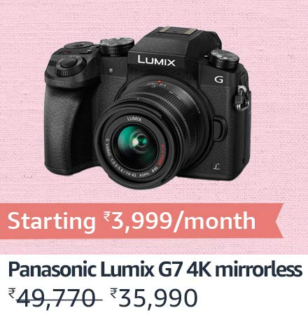 Panasonic G7 Mirrorless Camera