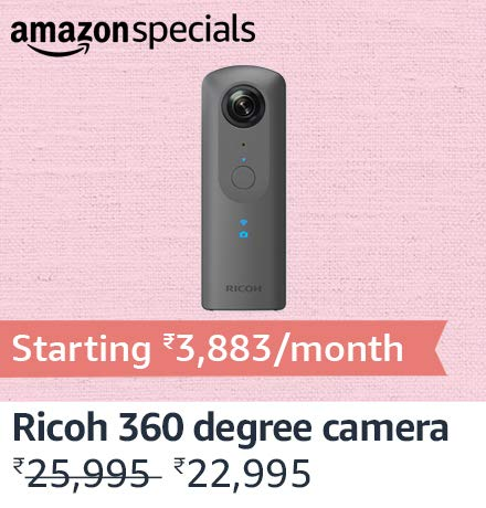 Ricoh Thetha 360 degree camera