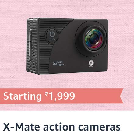 X Mate Action cameras