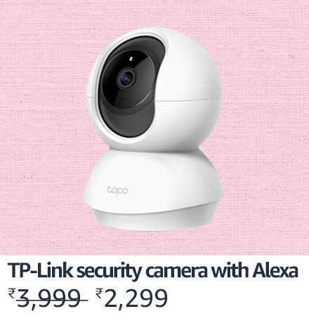 TP-Link Security Camera with Alexa