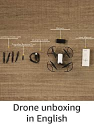 Drone unboxing in English