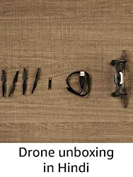 Drone unboxing in Hindi