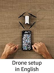 Drone setup in English