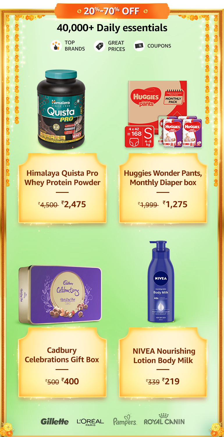 Daily Essentials Offers & Deals Amazon India