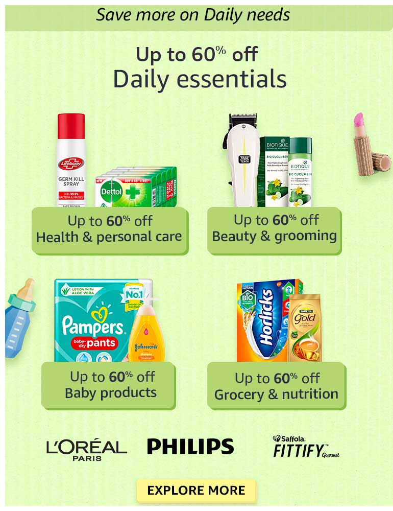 Daily Essentials - Up to 60% OFF