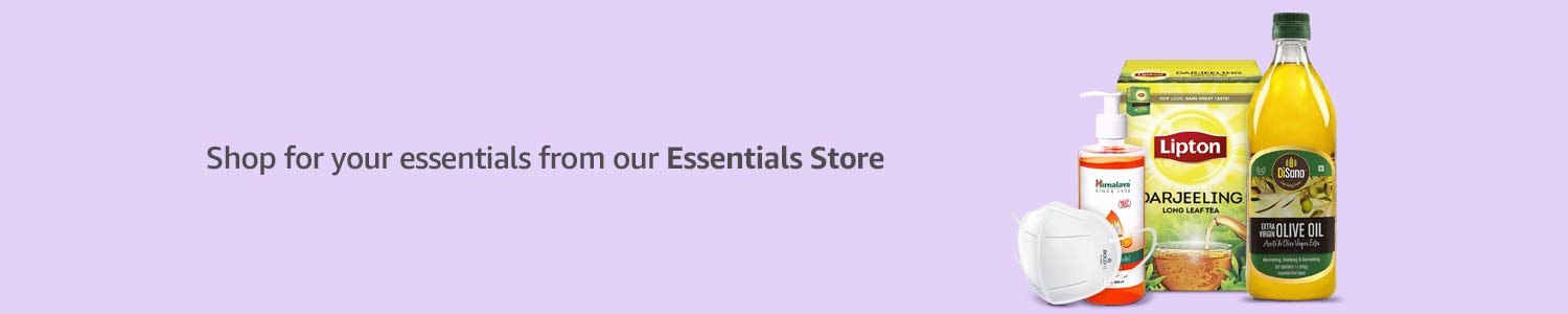 Shop for your essentials from our Essentials Store.