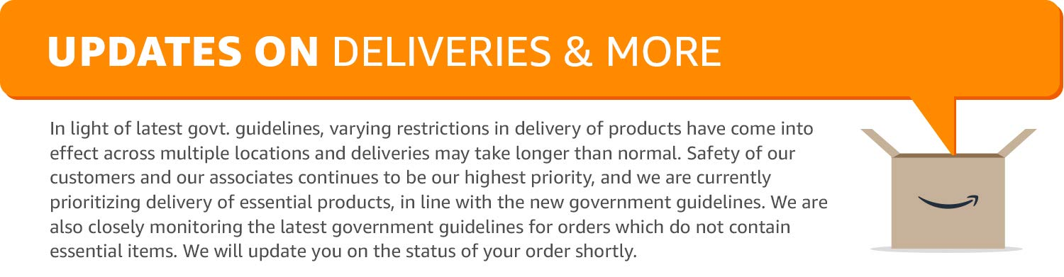 Updates on Deliveries & More