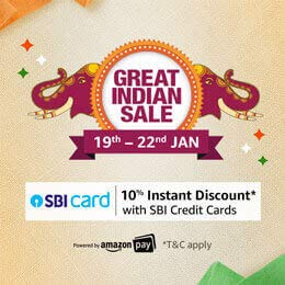 Amazon Great Indian Sale Banner Ad