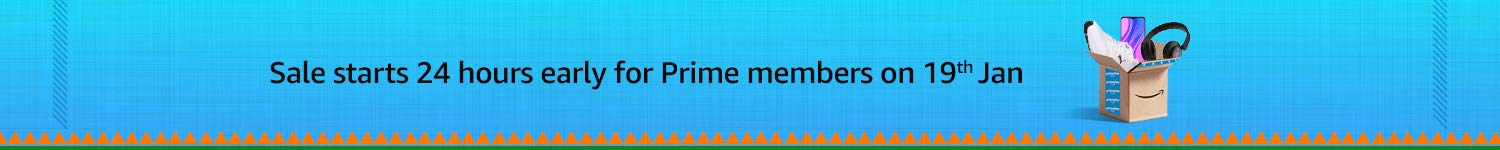 Sale starts early for prime members