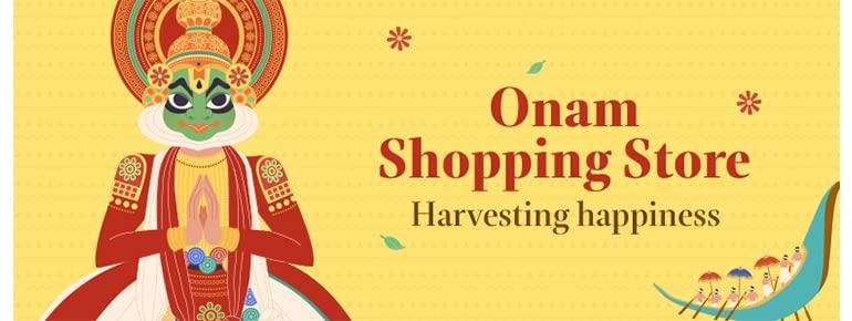 Onam Shopping Store