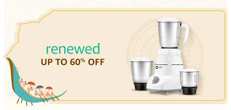 Save more with renewed