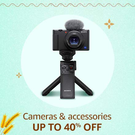 Camera & accessories Up to 40% off