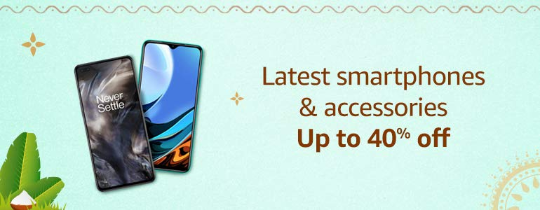 Latest smartphones & accessories