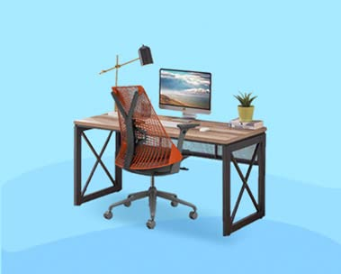 Study Table & Chairs for online classes