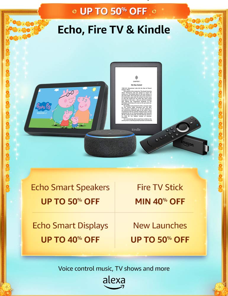 Echo, Fire TV & Kindle