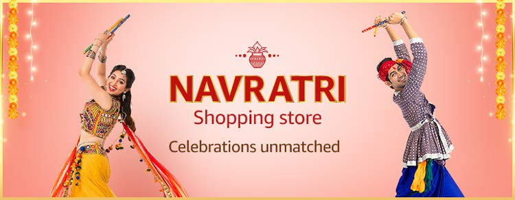 Navratri Shopping store Offers & Deals Amazon India