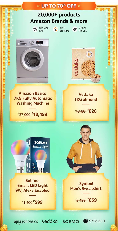 Amazon Brands Offers & Deals Amazon India
