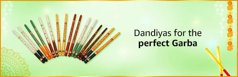 Dandiyas for garba