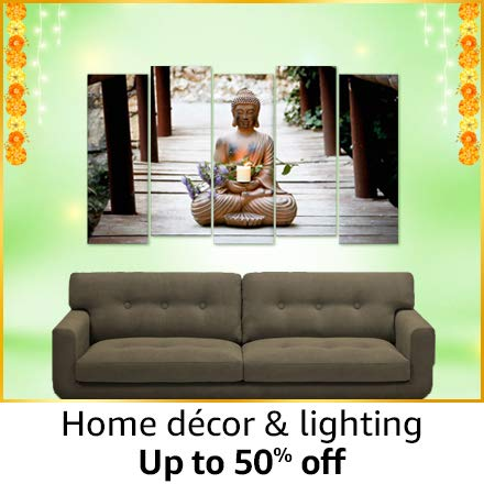Home décor and lightning | up tp 50% off