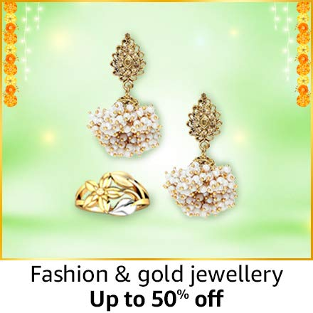 Fashion and gold jewellery | up to 50% off