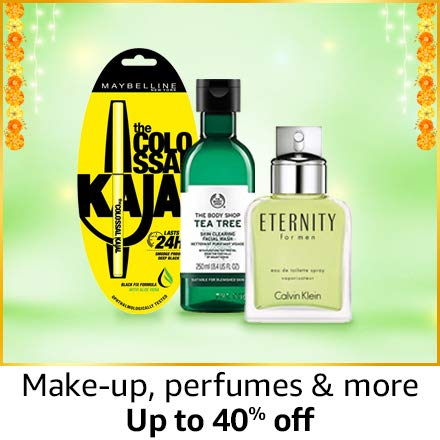 Make-up, perfume and more | up to 40% off