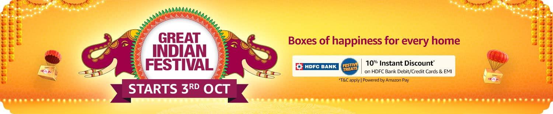 Great Indian festival header