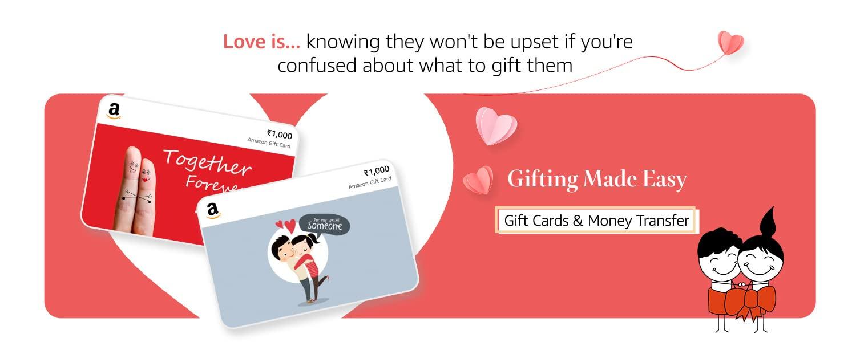 gift cards & money transfer