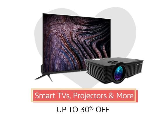 Smart TVs, projectors & more