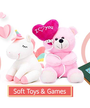 soft toys & games