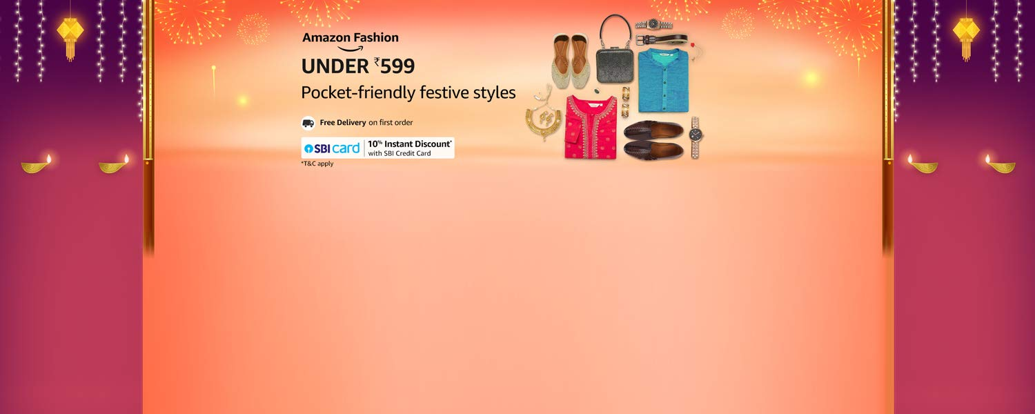 amazon.in - Fashion and Accessories under ₹599