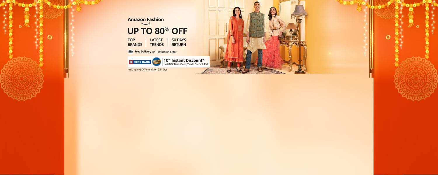 amazon.in - Avail Up To 80% Off