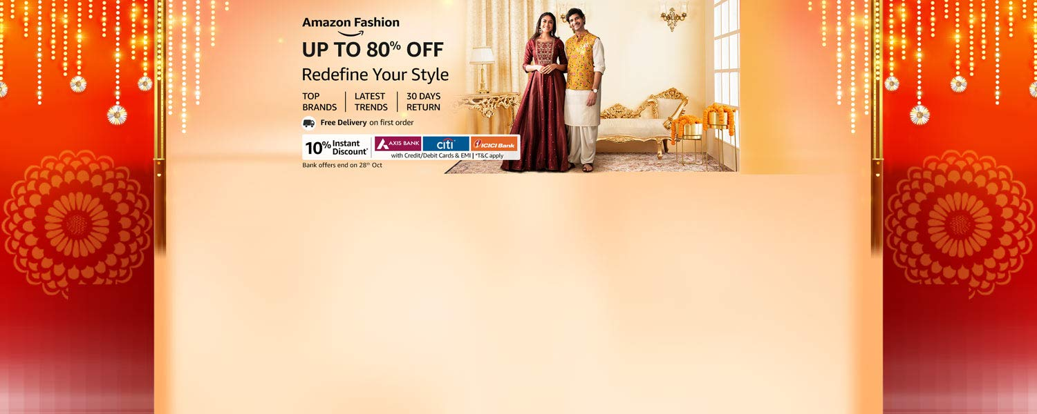 amazon.in - Avail Upto 80% OFF