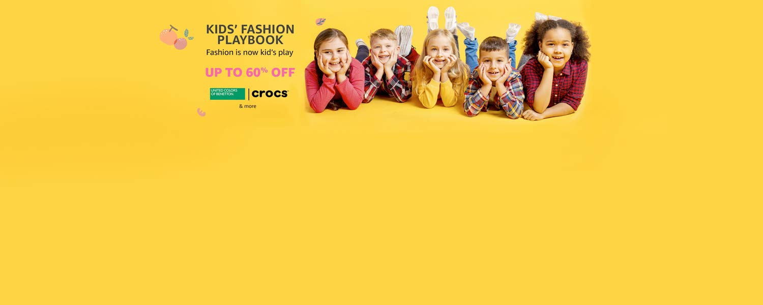 Amazon Latest Offers & Discount Codes - Upto 60% Off on Kids Clothing