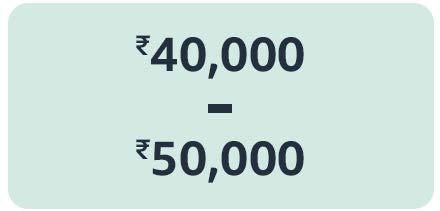 30,000 to 40,000