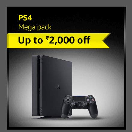 Up to ₹2000 off on PS4