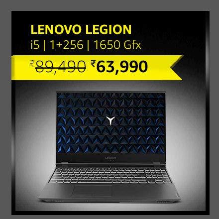 Lenovo Legion i5|1+256|1650 Gfx