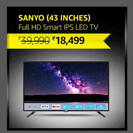 Sanyo (43 inches) Full HD Smart IPS LED TV